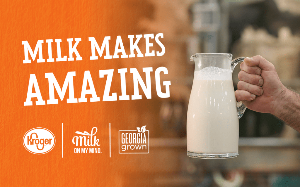 Milk on My Mind partners with Kroger