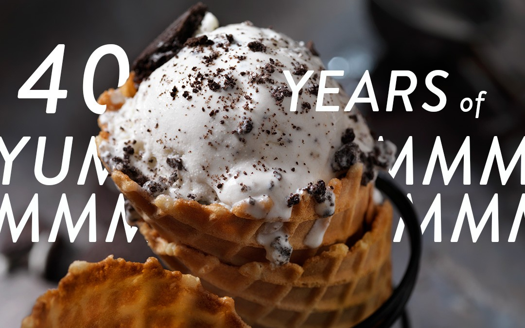 National Ice Cream Month: Happy 40th Birthday, Cookies 'N Cream