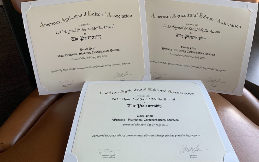 American Agricultural Editors' Association Awards